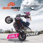 Campaña girl power moto power Alberto Cañizares